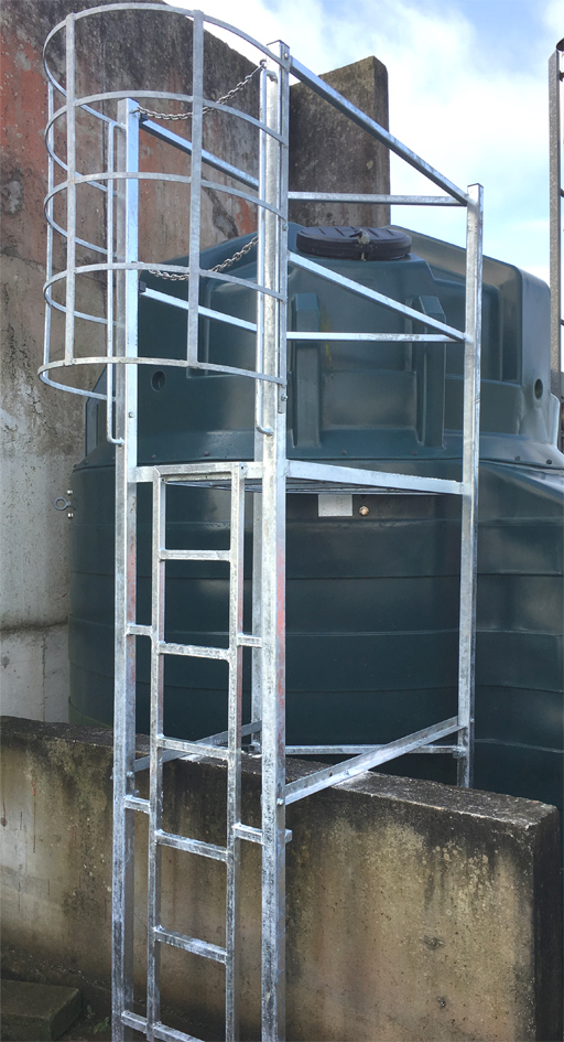 Inspection towergalvanised steel