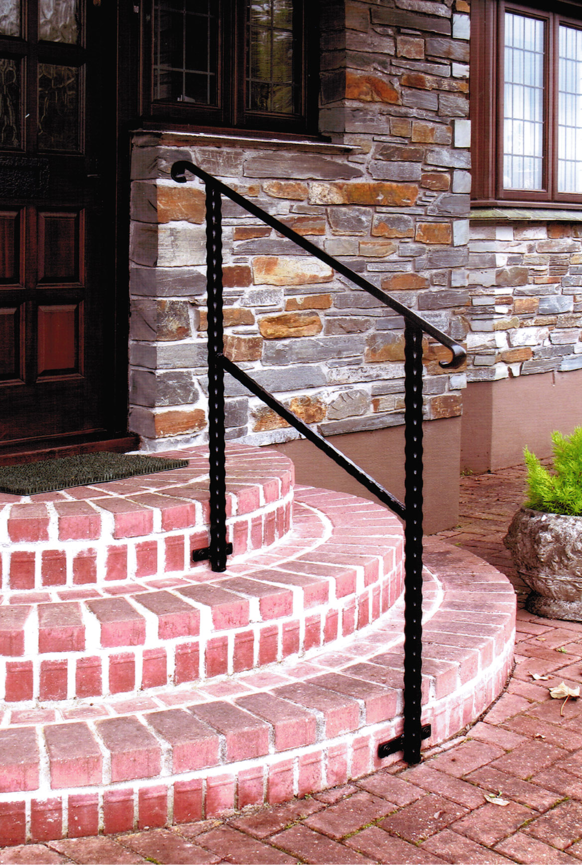 wrought iron hand rail